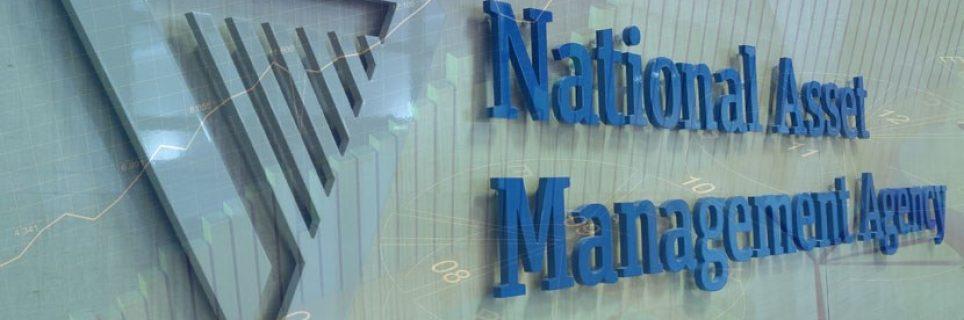 NAMA logo installation